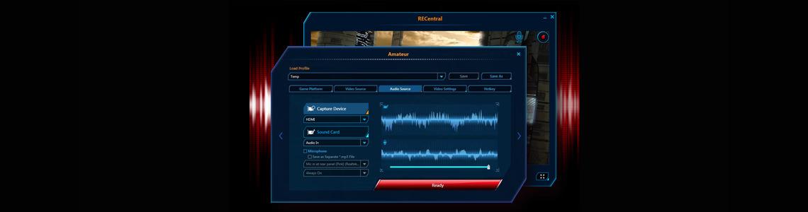 Comentários de voz nas gameplays Live Gamer Portable - C875