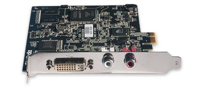 Placa de captura PCIe com conexões DVI, HDMI e VGA DarkCrystal HDMI DVI RCA SDK - CD530