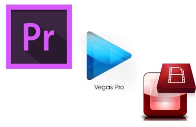Softwares de edição de vídeo compatíveis