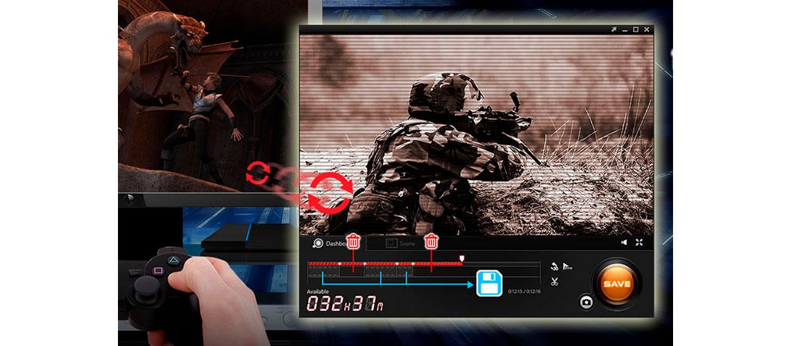 Edição durante a gravação RECentral 3 AVerMedia Live Gamer HD 2