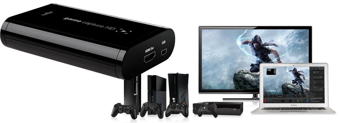 Placa de captura HDMI para gravação 1080p30fps e livestream