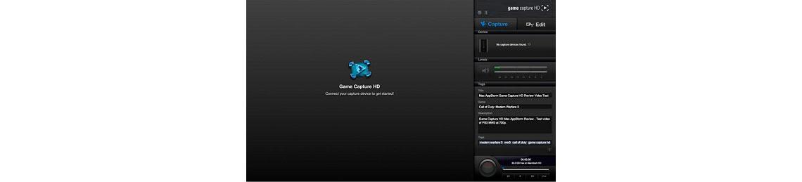 Software de Captura avançado e fácil de usar