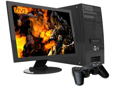 Reprodução e transmissão em uma tela Extremecap U3 - CV710