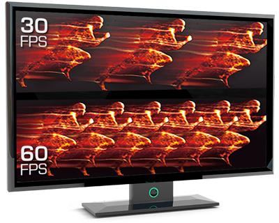 Gravações em alta qualidade de 1080p 60fps