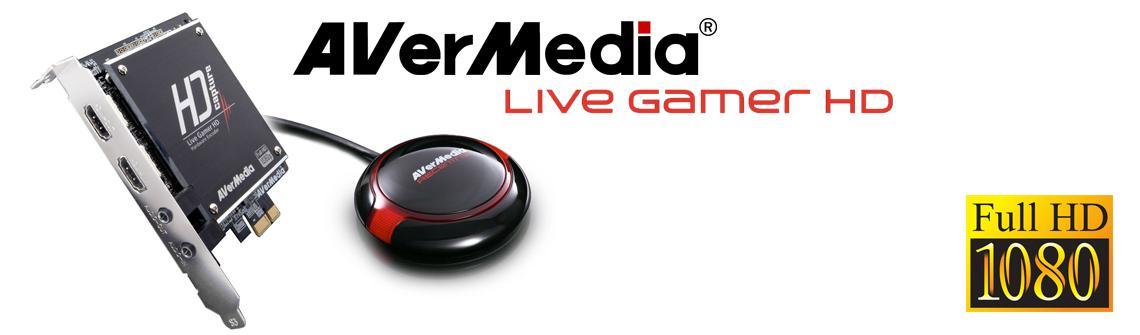 Placa de Captura Live Gamer HD - AVerMedia Brasil