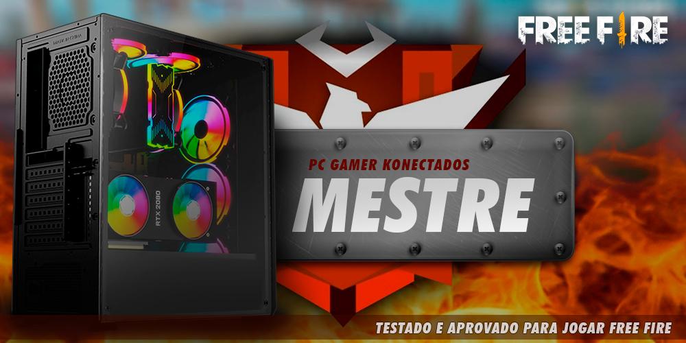pc gamer para pegar mestre no free fire