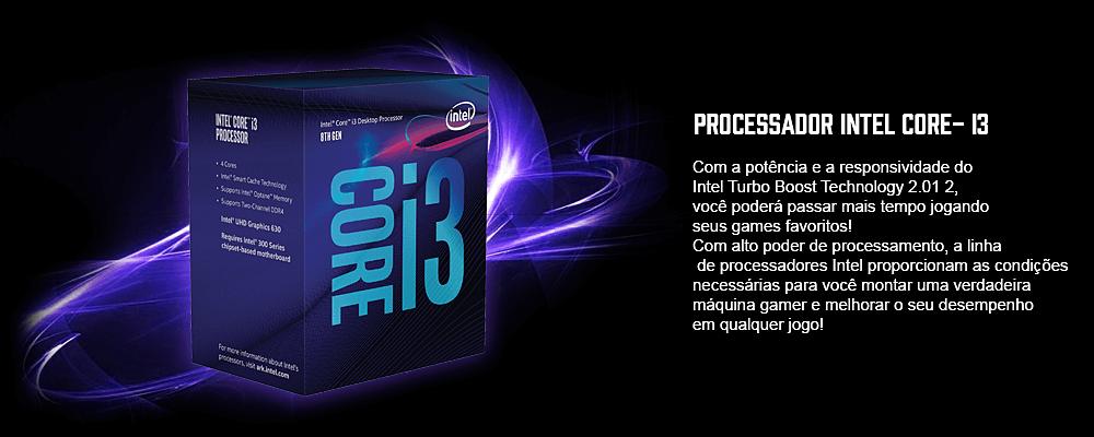 processador i3 para montar seu pc gamer barato em sp