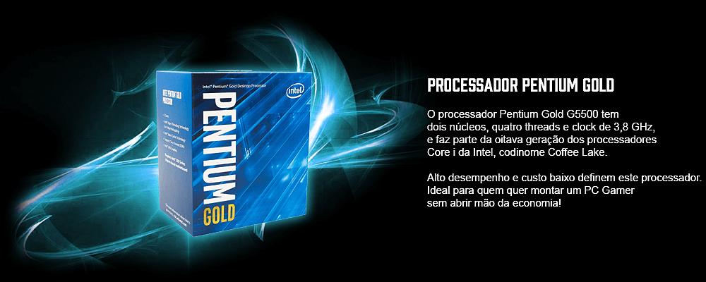 processador barato para pc gamer pentium gold