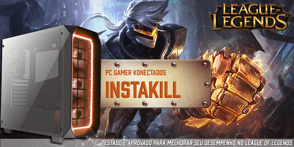 pc gamer para jogar league of legends