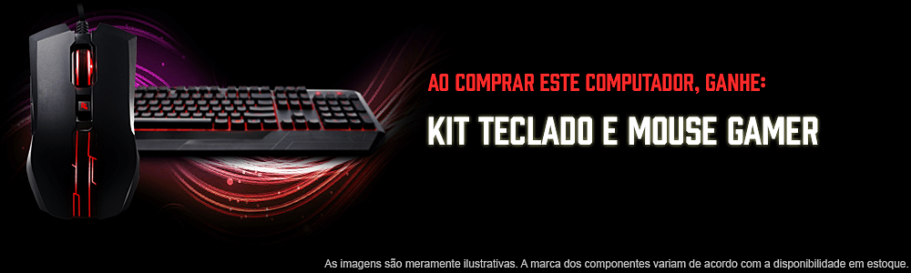 teclado gamer thunderx3 e mouse 12
