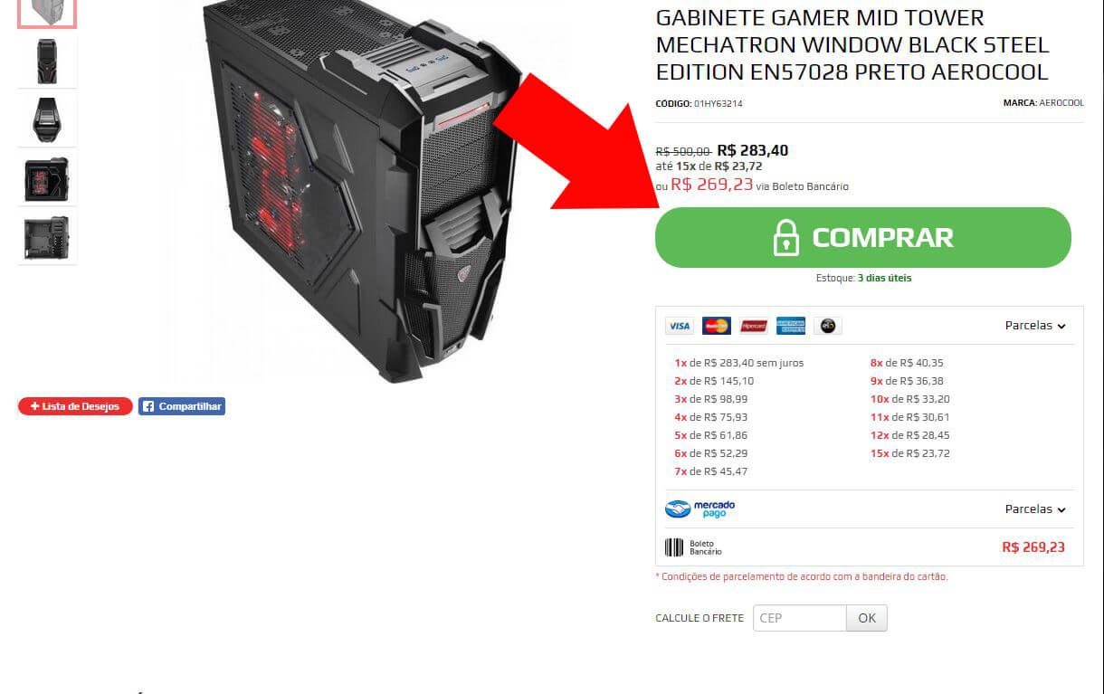montar pc gamer em sp