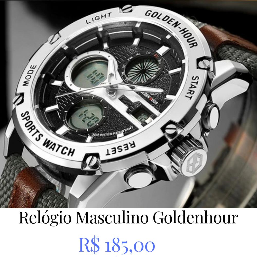 1a2e9756b38 quem viu este produto relógio masculino esportivo seculus 235411