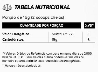 Tabela Nutricional Palatinose New Millen