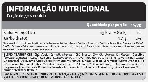 Tabela Nutricional X7 Thermogenic Atlhetica Nutrition