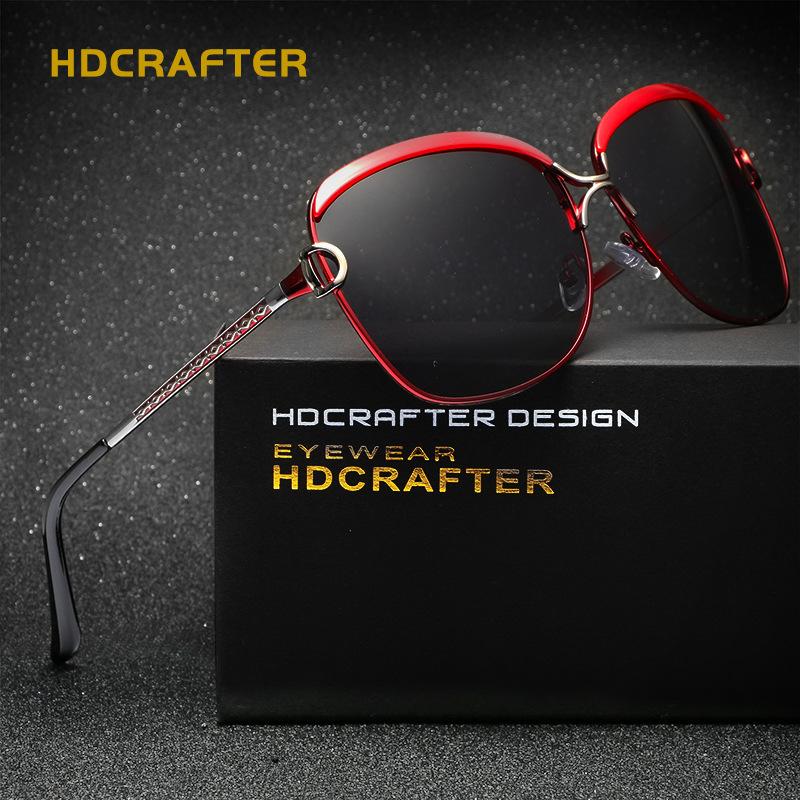 Oculos de sol feminino luxuoso HDCRAFTER - www.importbela.com.br 3458c432f8