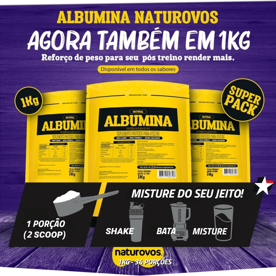 albumina 1kg naturovos