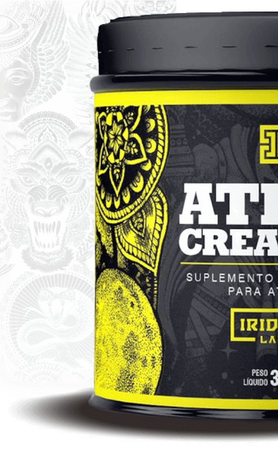 atlas creatina 150 gramas iridium labs melhora o desempenho físico e energia