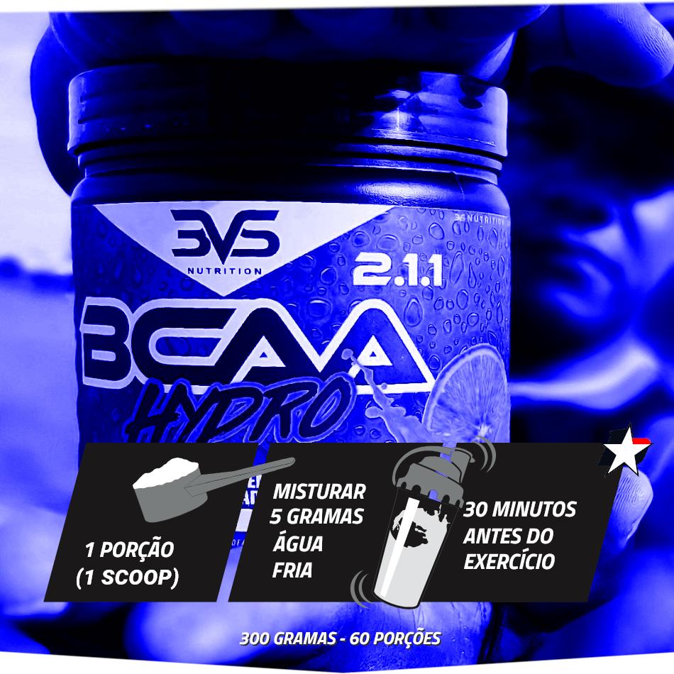 bcaa hydro powder 3vs