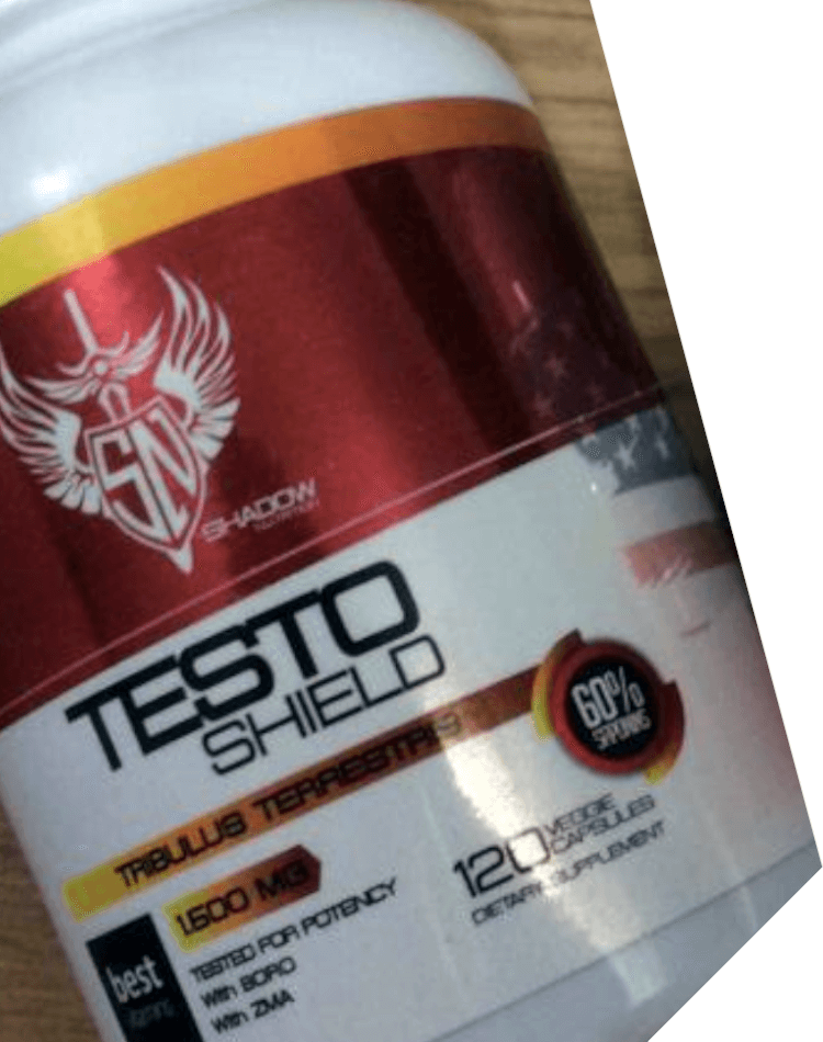 testo shield shadow nutrition supplements