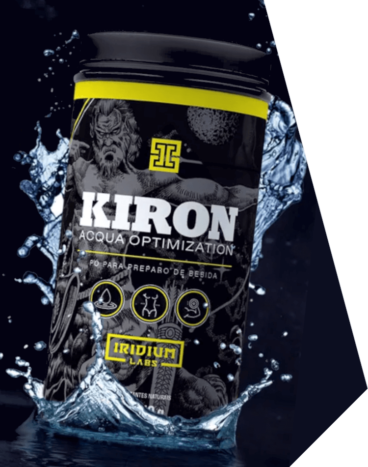 kiron acqua optimization da iridium labs de 150 gramas no combo emagrecimento iridium labs