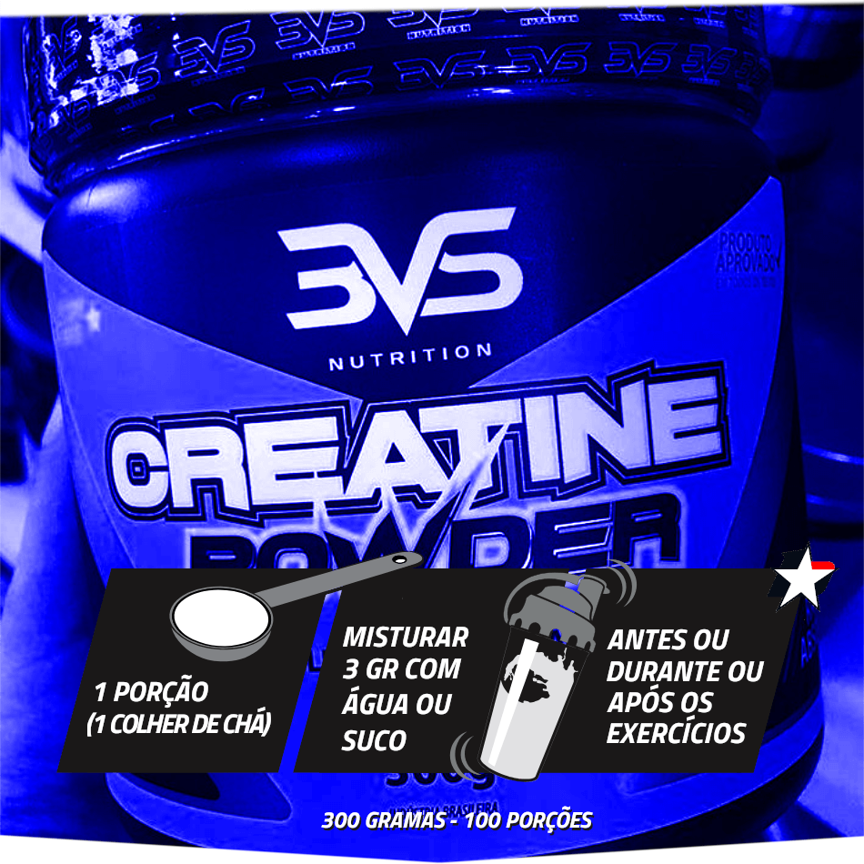 creatina powder 3vs