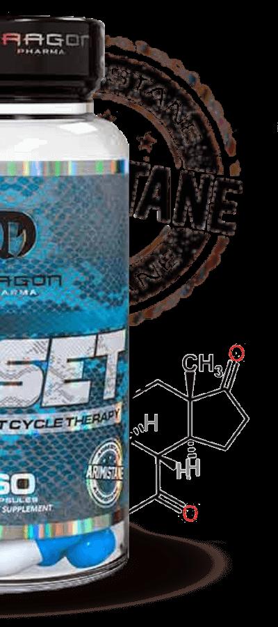 cycle reset dragon pharma contém arimistane em sua composição