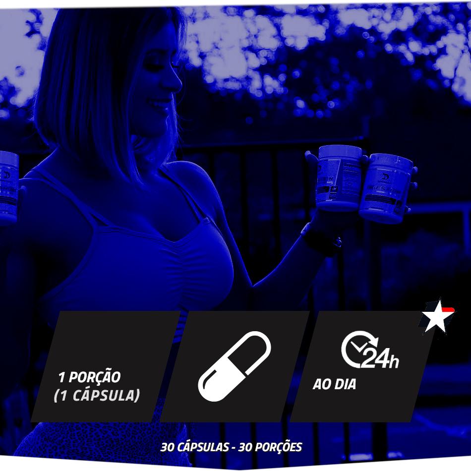 Digestion RX Dragon Pharma vem em frasco com 30 cápsulas e rende 30 porções