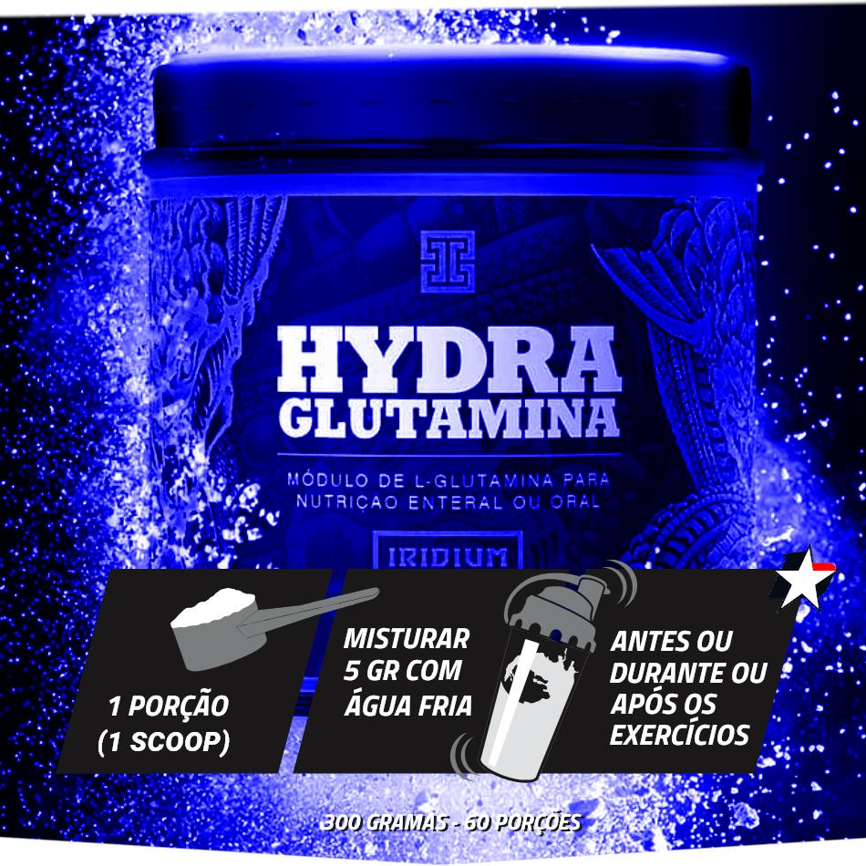hydra glutamina iridium labs
