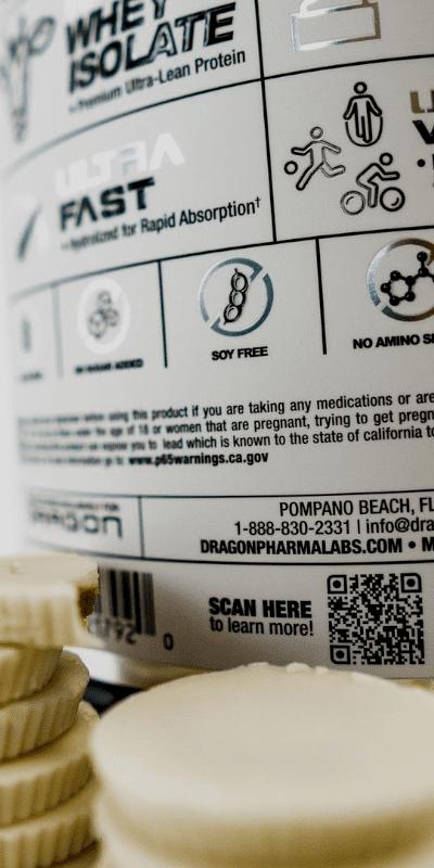 IsoPhorm whey dragon pharma contém mais 11,1 gramas de EAA's e 2,5 gramas de Leucina
