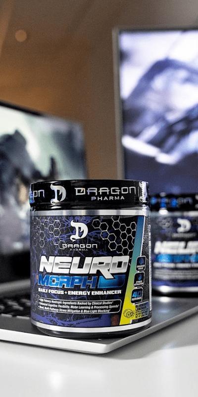 neuromorph dragon pharma é sua dose de foco diário