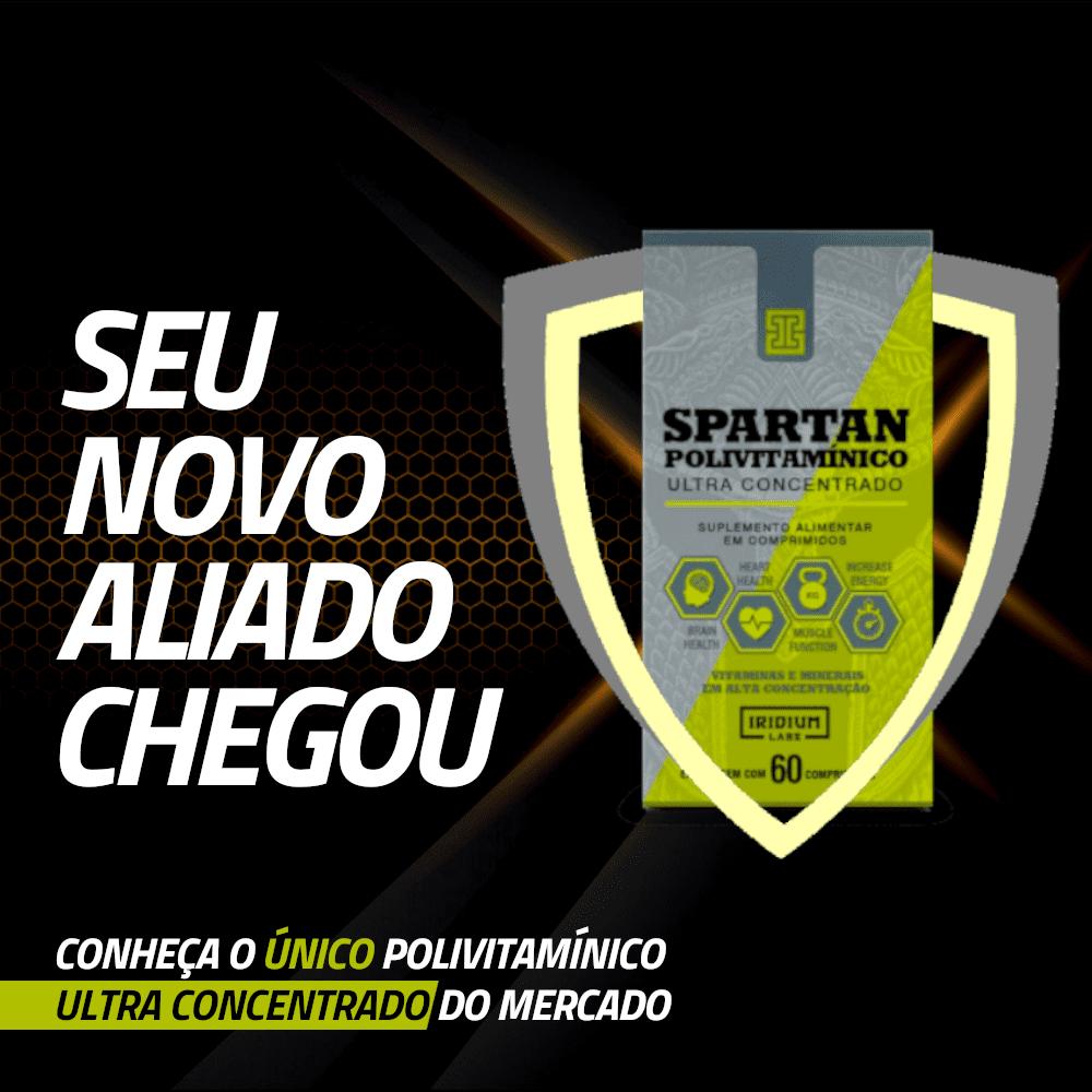 spartan iridium labs é o único polivitamínico ultra concentrado do mercado