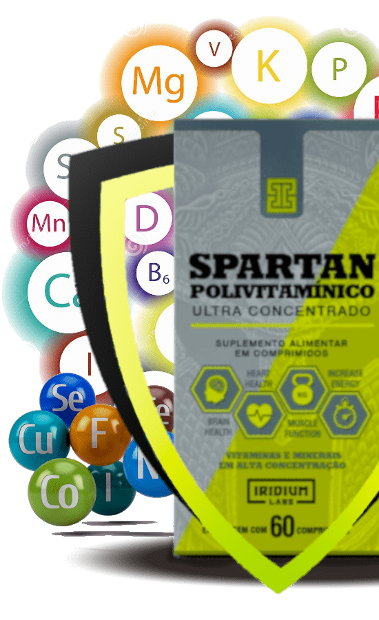 spartan iridium labs com 60 cápsulas