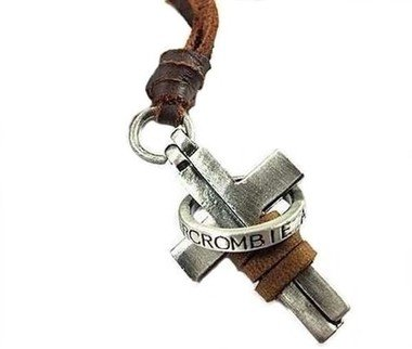 colar-masculino-de-couro-abercrombie-e-fitch-cruz-e-anel