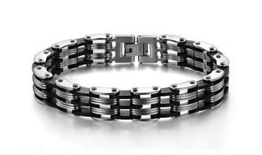 pulseira-masculina-de-aco-com-detalhes-em-silicone-preto