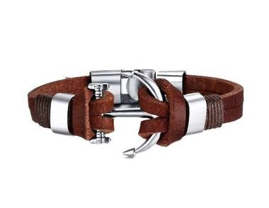 pulseira-masculina-de-couro-legitimo-ancora