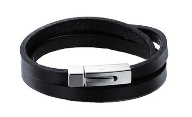 pulseira-masculina-de-couro-legitimo-preto