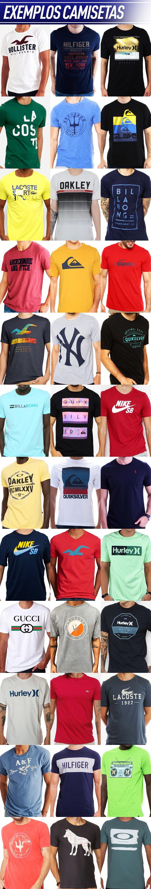 228bab232 Kit com 50 camisetas masculinas | Atacado para revenda - Atacado de ...