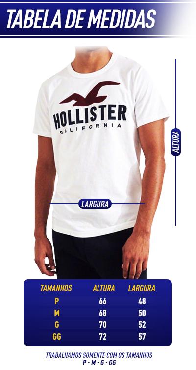 1b36159d0 A forma das camisetas é 4cm menor que a tradicional, então recomendo pegar  um tamanho maior que o tradicional de uso, assim a camisa servirá  perfeitamente.