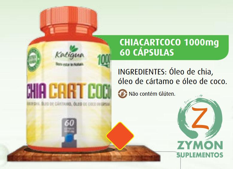 30c725291 A Chia Cart Coco é uma fórmula que contém em suas cápsulas três diferentes  tipos de óleos  o óleo de chia