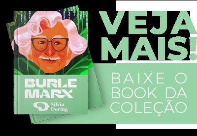 Silvia Doring Acessórios - Book - Coleção Burle Marx