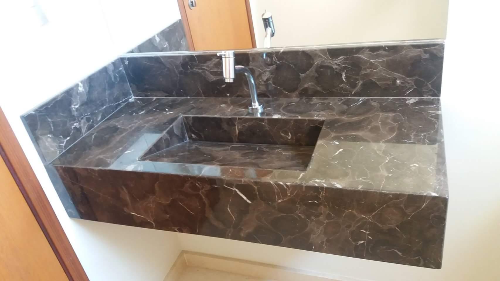 Bancada banheiro granito with bancada banheiro granito for Empresas de granito