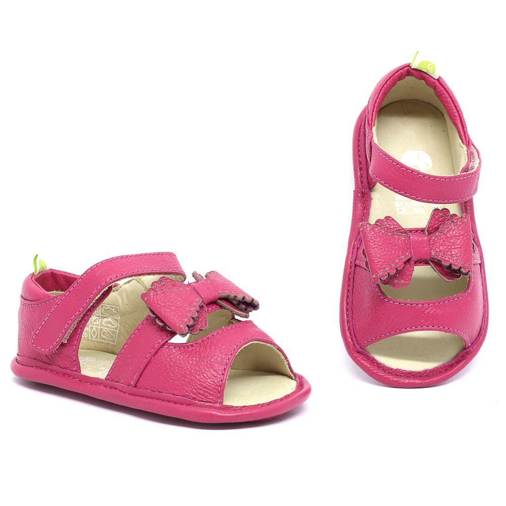 a00300b838 Sandália Le Fantymy Couro Carmim - MiniSer - Calçados Infantis