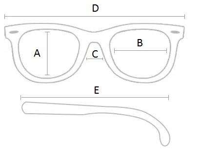 2915357acc001 Medidas gerais do produto Oculos de Sol Ray Ban Round Double Bridge Rb3647