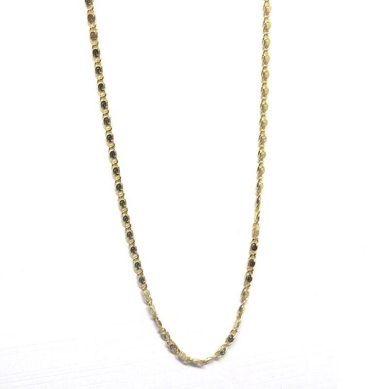 Pulseira masculina corrente fina folheada em ouro 18k - Diferencial ... e10a280901