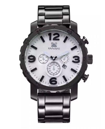 15122a8c1fb Relógio com Pulseira Preta Kanishi - Imagem 1 ...