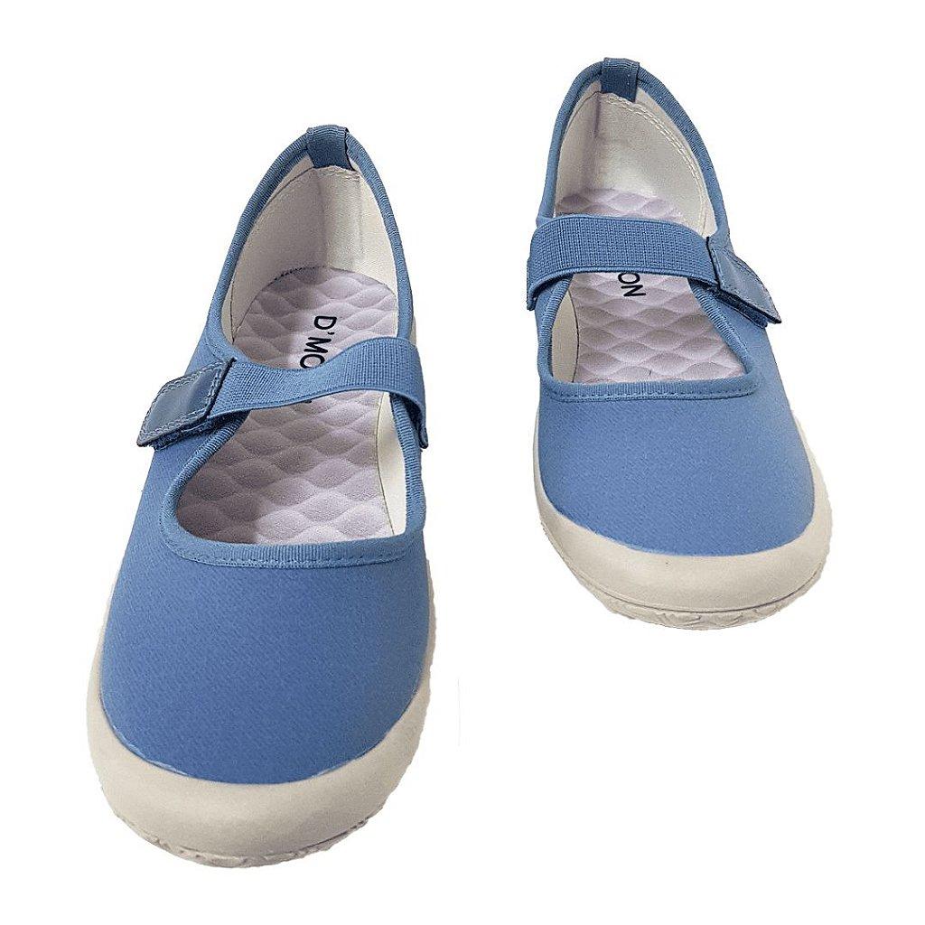 68ab0a2be3 Sapatilha Feminina Dmoon Azul - Loja de Calçados Feminino