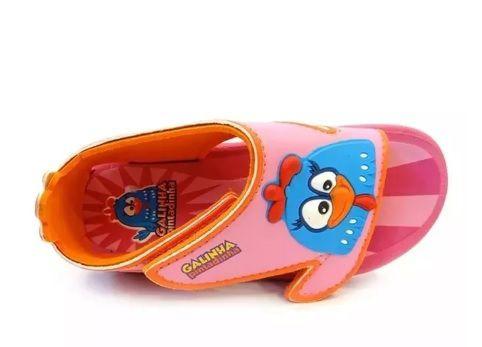 a48086be7 Sandália Grendene Galinha Pintadinha Rosa - A sua loja de calçados e ...