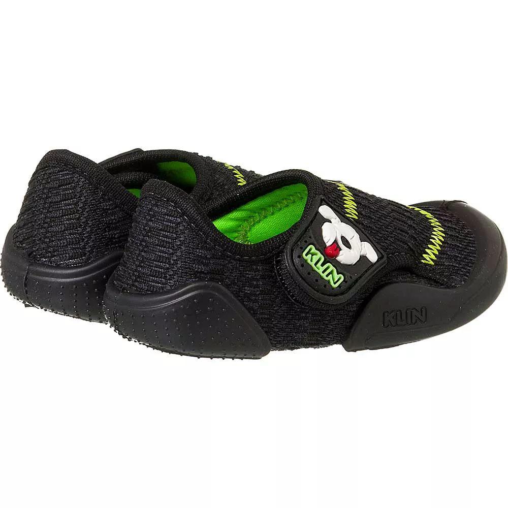 d8f350e8fc Tênis Klin New Confort Preto verde - A sua loja de calçados e ...