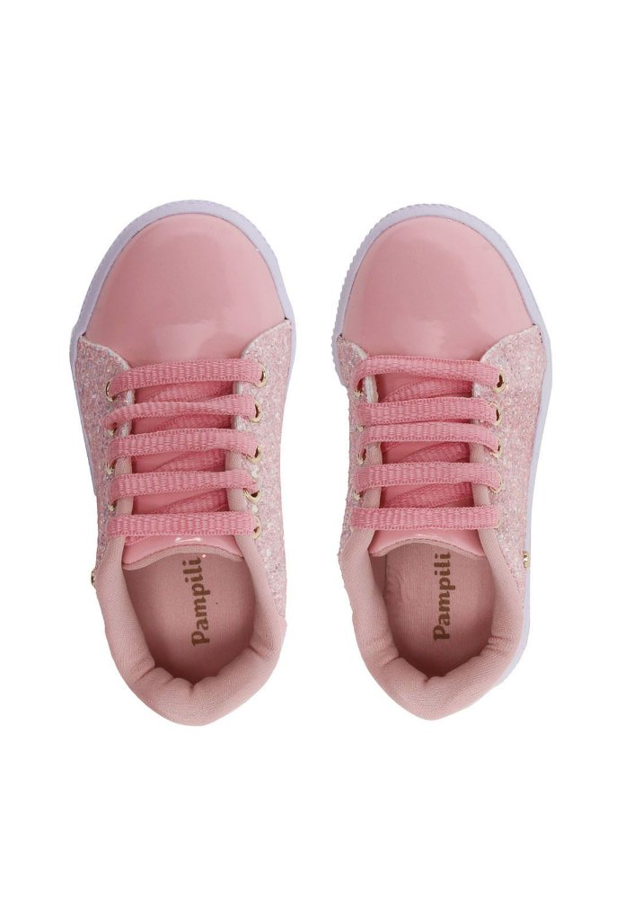 ea29805216 Tênis Pampili Blog Rosa  Branco - A sua loja de calçados e ...
