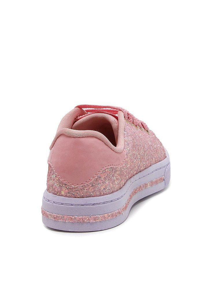 cd7137fc6 Tênis Pampili Blog Rosa  Branco - A sua loja de calçados e ...